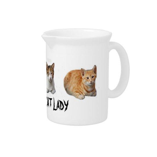 Crazy Cat :adu Pitcher