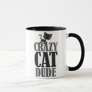 Crazy cat dude