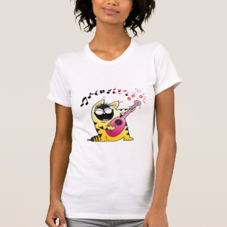 Crazy Cat Guitarist Shirts