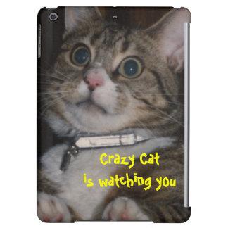 Crazy Cat iPad Air Cases
