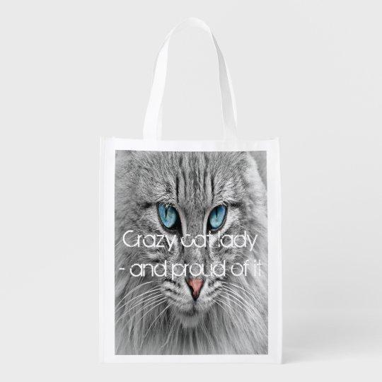 Crazy cat lady, custom family pet photo reusable