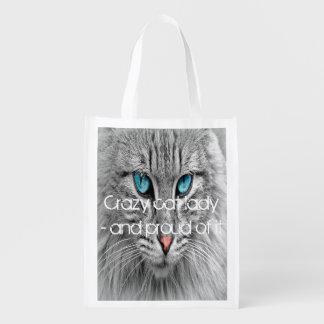 Crazy cat lady, custom photo