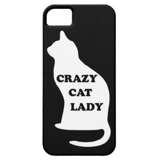 Crazy Cat lady feline animal pet pets cats people Barely There iPhone 5 Case
