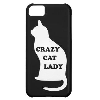 Crazy Cat lady feline animal pet pets cats people iPhone 5C Case
