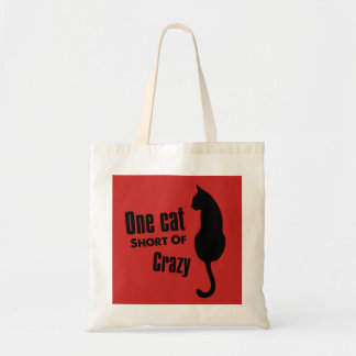 Crazy Cat Lady Funny Meow Tote Bag