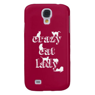 Crazy Cat Lady Galaxy S4 Case
