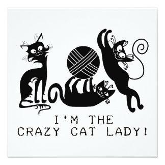 Crazy Cat Lady Announcements