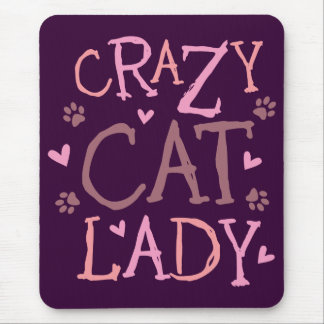 Crazy Cat Lady Mouse Mat