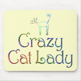 Crazy Cat Lady Mousepad
