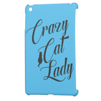Crazy Cat Lady Pet Cat Lover iPad Cover