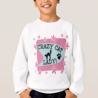 Crazy Cat Lady - Retro Sweatshirt