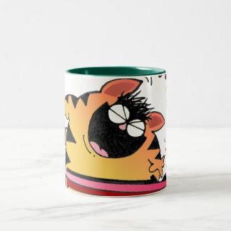 Crazy Cat Musical Mug / Hilarious Cat Musician Mug