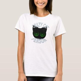 Crazy Cat Person T-shirt