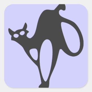 Crazy Cat Stickers