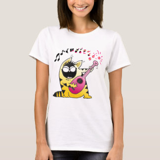 Crazy Cat  T Shirt