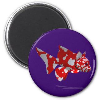 Crazy Catfish 6 Cm Round Magnet