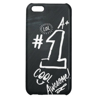 Crazy Chalkboard back to school iPhone 5C Covers