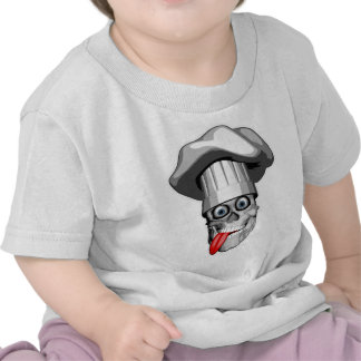 Crazy Chef Skull Shirts