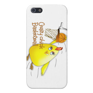 crazy chick basketball iPhone 5 covers