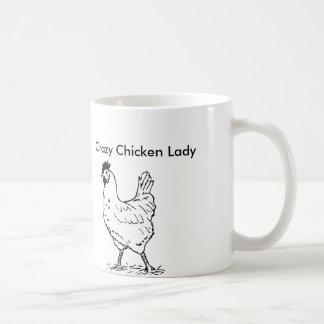 Crazy Chicken Lady Coffee Mug