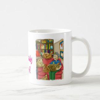 Crazy Chicken Lady - Coming Through! Coffee Mug