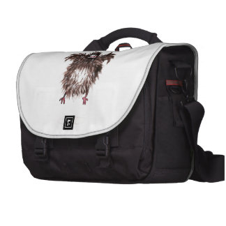 Crazy chicken commuter bag