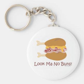 Crazy Chicken Sandwich Key Ring