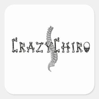 Crazy Chiro - Revolution in Chiropractic Stickers