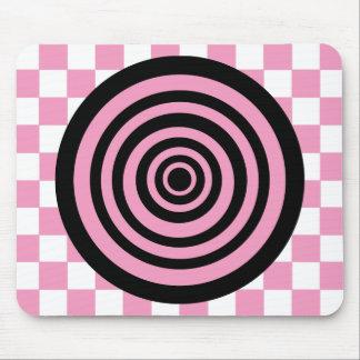Crazy Circle Mouse Pad