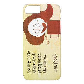 Crazy coffee Writer Great gift for a great writer iPhone 8/7 Case
