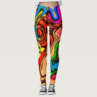 Crazy Colors Leggings