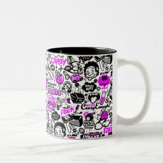 Crazy  Combo Two-Tone Coffee Mug