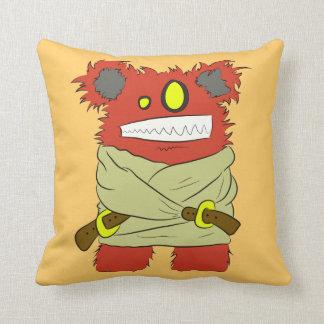 Crazy critter cushion