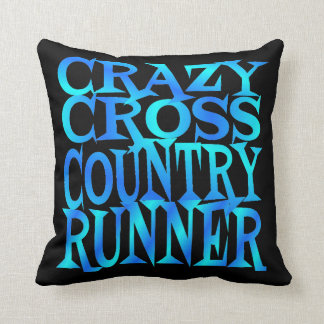 Crazy Cross Country Runner Cushion
