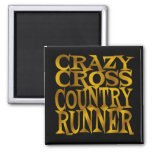 Crazy Cross Country Runner in Gold