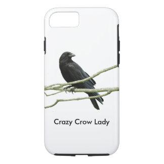 Crazy Crow Lady iPhone 8/7 Case