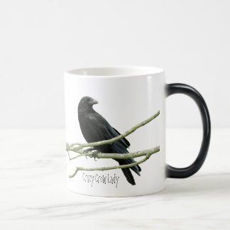 Crazy Crow Lady Mug