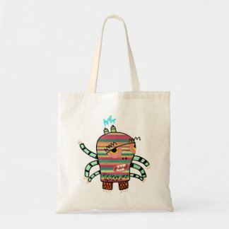 Crazy Cute Six-Armed Panic Monster Tote