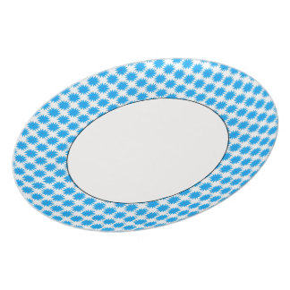 Crazy-Daisies-Blue(c) Everyday_ Dinner Plate