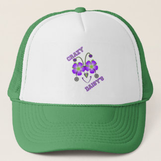 Crazy Daisies Logo Trucker Hat