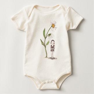 crazy daisy baby bodysuit