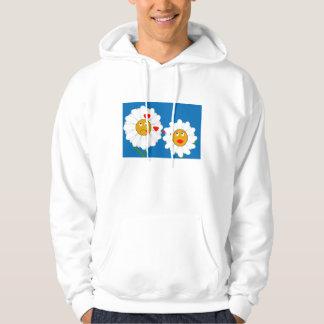 Crazy Daisy Hoodie Sweatshirt