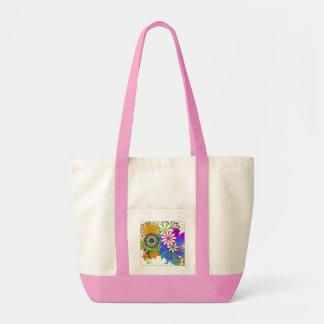 Crazy Daisy Tote Impulse Tote Bag