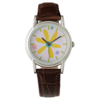Crazy Daisy Wrist Watch