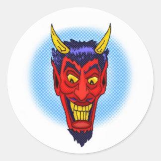 Crazy Devil Sticker