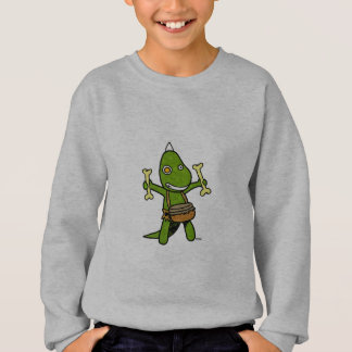 crazy dino sweatshirt