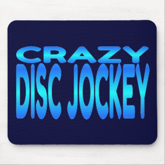 Crazy Disc Jockey Mouse Mat