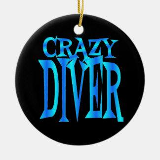 Crazy Diver Christmas Ornament