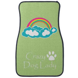 Crazy Dog Lady Car Mat