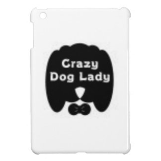 Crazy Dog Lady iPad Mini Cover